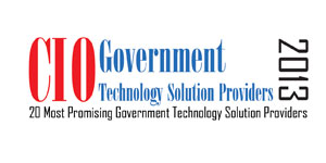 20 Most Promising Government Technology Solution Providers - 2013