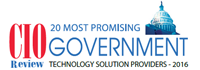 20 Most Promising Government Technology Solutions 2016